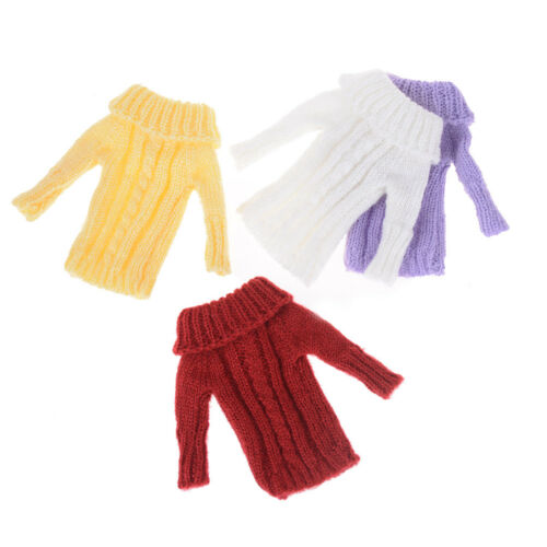 Handmade Knitted Sweater Dress Doll Accessories Clothes For 15/'/' Dolls RS