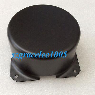 1PC 120*57mm  Metal Shield Plate Black Toroid Transformer Cover Chassis