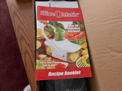 Slice-O-Matic Food Slicer AS SEEN ON TV New in Box