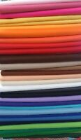 Craft Felt Fabric Material - Sold in Squares Pack - Assorted Colours