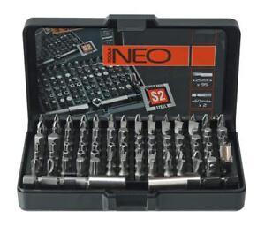 Neo Professionnel Mixtes Embouts Tournevis Set 99 Pcs S2 Steel En Cas (neo 06-104)-afficher Le Titre D'origine Diversifié Dans L'Emballage