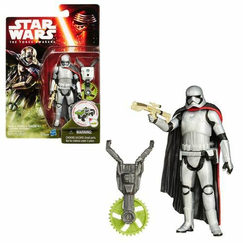 Captain Phasma 3 3//4 inch Action Figure Star Wars VII Jungle Space Wave 1