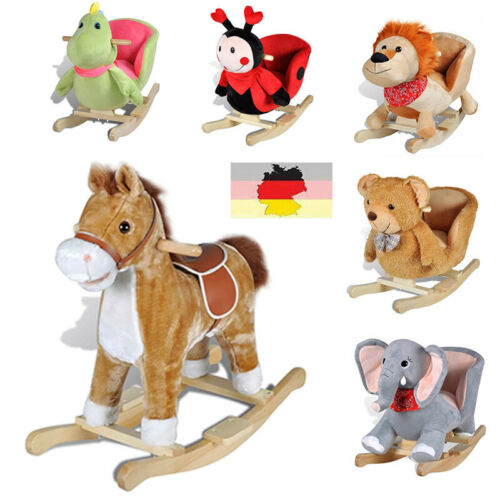 Schaukelpferd Schaukeltier Schaukel Pferd Baby Kinder Schaukelspielzeug