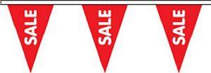 Sale Triangular Superior Polyester Bunting - 10m With 24 Flags Cool En éTé Et Chaud En Hiver