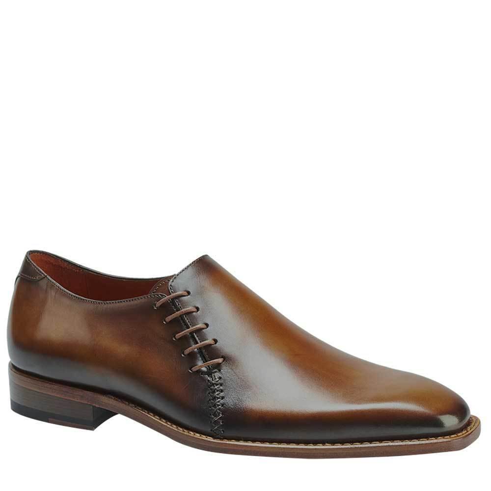 NEW Mezlan Fashion Dress Slip On Loafer scarpe Genuine Leather Master Marronee Honey