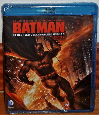 Batman El Regreso Del Caballero Oscuro 2 Nuevo Blu Ray Animacion Sin Abrir R2 Ebay
