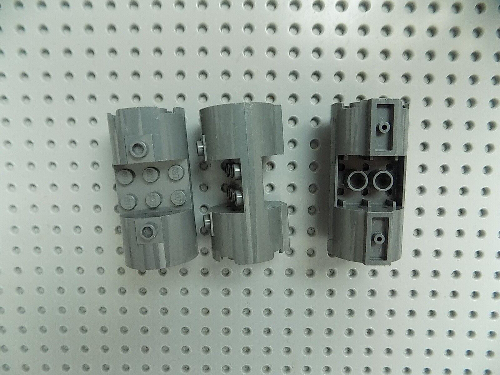 LEGO Dark Gray 3x3x6 Space Engine Cylinder Piece