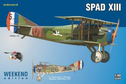 Eduard 1//48 Model Kit 8425 SPAD XIII Weekend Edition C