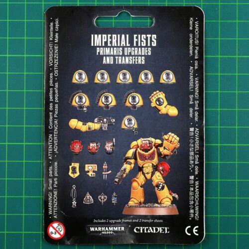 imperial Fists Primaris vignettes 12374 SPACE MARINES warhammer 40k Mises à Niveau