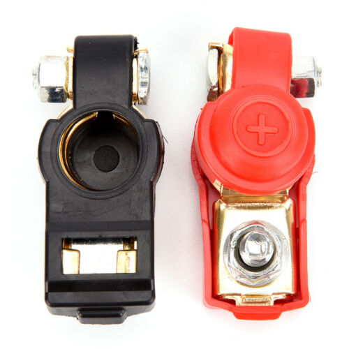 Car Battery Terminal Connector Battery Pair of 12V Quick Release*Battery Clam YJ