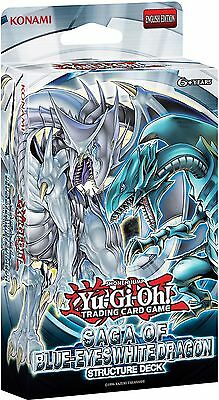 YuGiOh! Saga of Blue-Eyes White Dragon UNL Ed Structure Deck - Cards Only-No Box