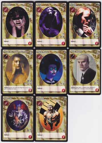 Ventrue Antitribu Small//Mid Crypt Lot G2 8x Vampires Mixed 10th//SW//SE V:TES VTES