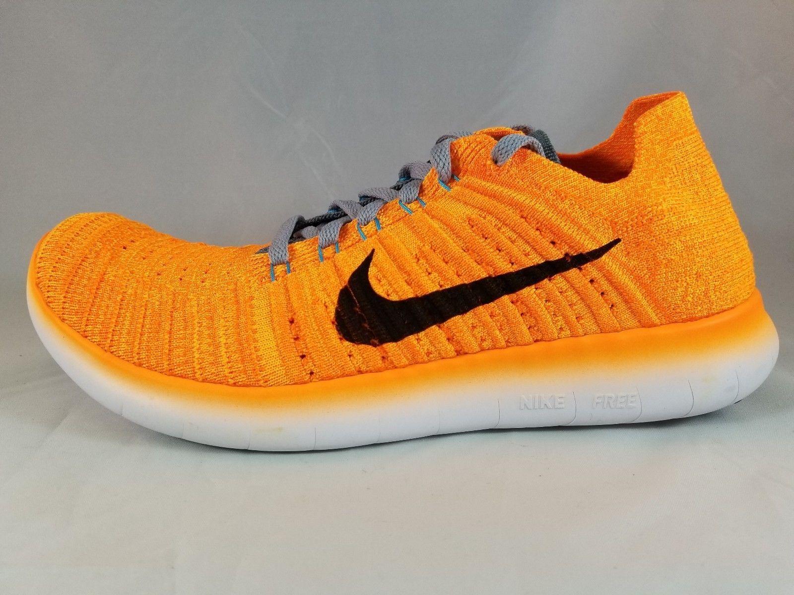 Nike Free RN Flyknit Men's Running shoes 831069 800 Size 11.5