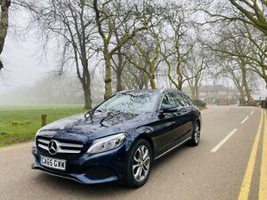 2016 Mercedes C Class C350e Sport Estate Automatic Petrol Hybrid Plugin Blue