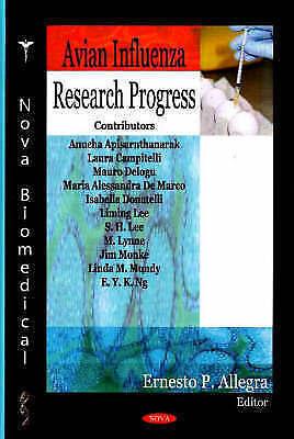 Avian Influenza Research Progress by Nova Science Publishers Inc (Hardback,...
