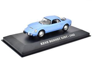 Rene-Bonnet-Djet-Year-1962-Blue-IN-1-43-From-IXO