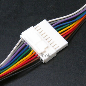 1pc small 10 pin terminal lead wire harness jack and plug 10 pin image is loading 1pc small 10 pin terminal lead wire harness