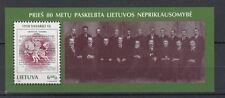 Lituania/Lithuania 1998 Bf 12 Indipendenza  MNH