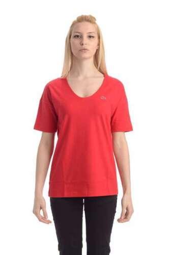 Art V Scollo A shirt Lacoste 2 Donna T Colori Tf3049 YTXqw