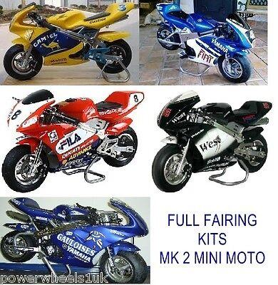 ORANGE IMPORTS FMM09 Mini Moto Fairings Mark 2 Mini Motos Chinas