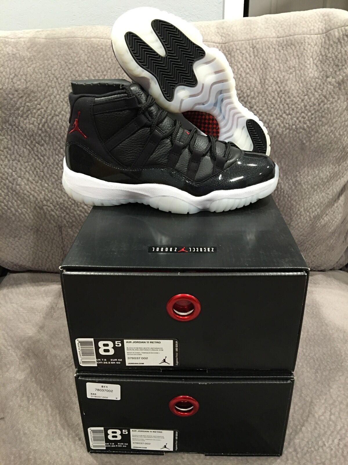 Nike Air Jordan Retro Xi 72-10 Rare Size