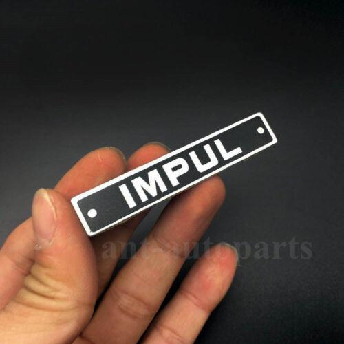 New Metal IMPUL Logo Car Trunk Tailgate Front Emblem Badge Decal Sticker JDM