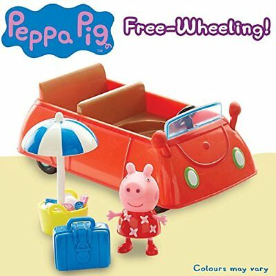 Peppa Pig Holiday Time Sunshine Car Red