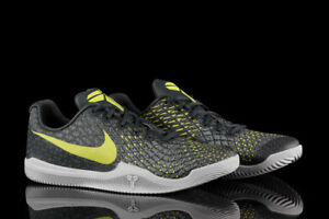 Nike Kobe Mamba Instinct Sneakers New Dust Grey / Lime Snakeskin 852473-003