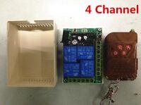 4CH Multi Channel DC 12V Wireless RF Remote Control Switch Relay Switch