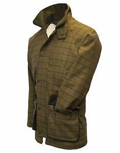 Walker-amp-Hawkes-Mens-Derby-Tweed-Shooting-Hunting-Jacket-Coat-Beige