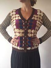 Marni H&M HM designer cotton silk cardigan Size Medium UK 12, EU 38 BNWT