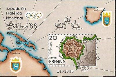 Spain  Edifil # 2956 ** MNH Set  EXFILNA 88