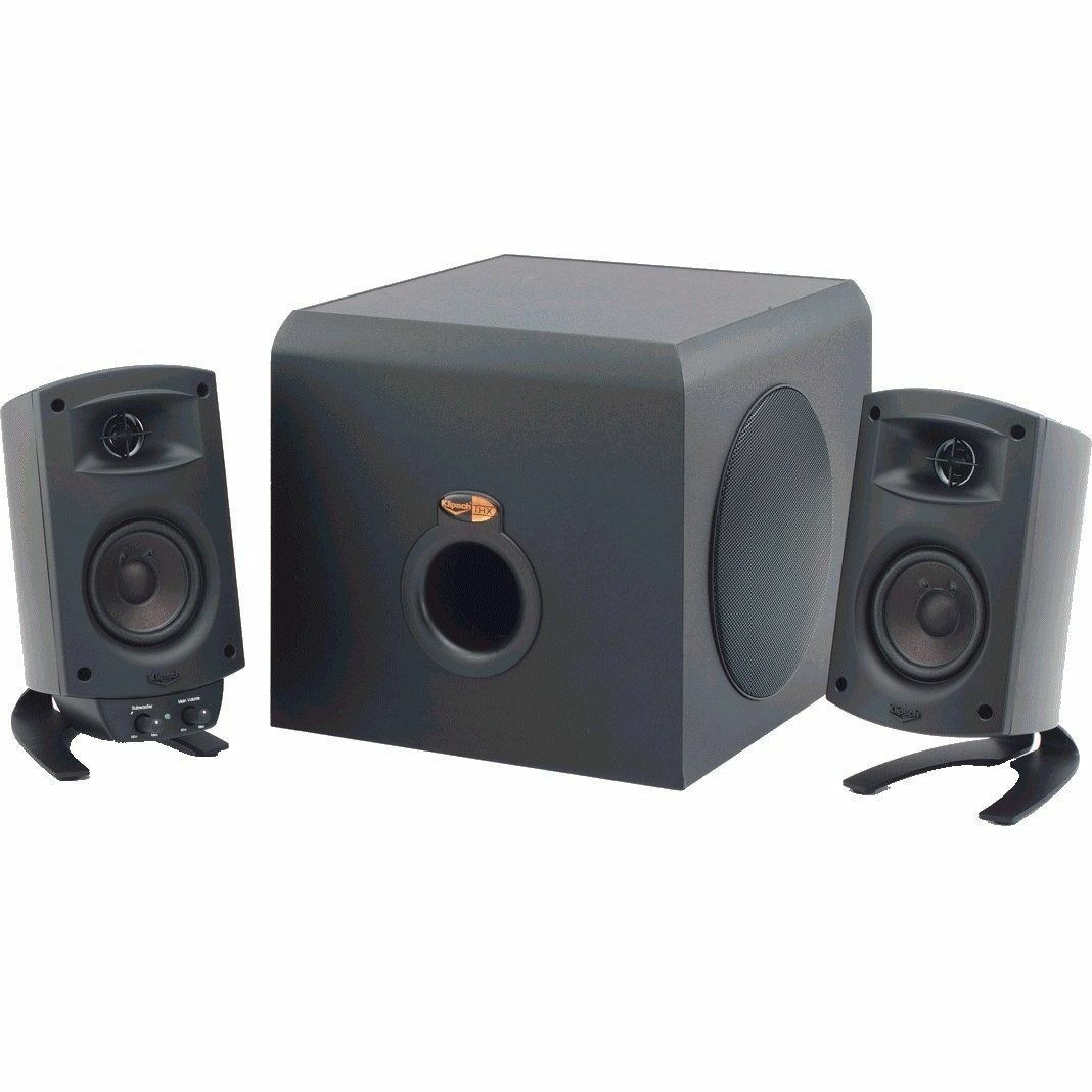 Klipsch ProMedia 2.1 THX Certified Speaker System - Black. Buy it now for 39.99