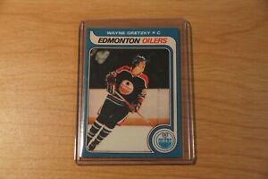 Wayne Gretzky EDMONTON Oilers Rookie card. Please read Description.