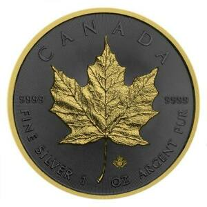 2019-Maple-Leaf-1oz-9999-Silver-Coin-Golden-Ring-Edition