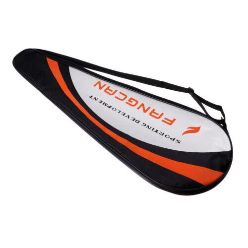 Durable Badminton Racquet Cover Full-covered Training Equipment Storage Bag