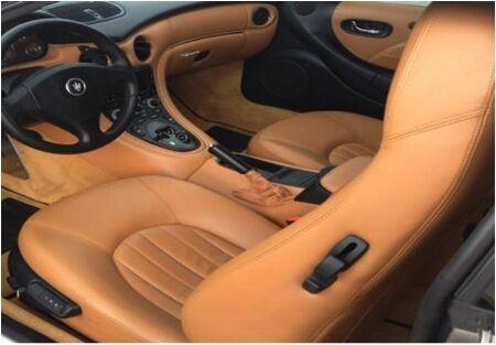 Kit Rinnova Colore Spallina Pelle Maserati Cuoio 4602 Ritocco Coupe 05 Spider