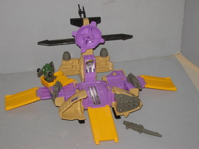 G1 TRANSFORMER DECEPTICON MICROMASTER SKYHOPPER COMPLETE PROF CLEANED LOT