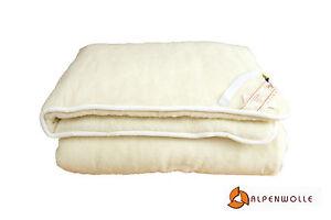 Unterbett-Doppelt-Matratzenauflage-Bettauflage-Schonbezug-100-Wolle