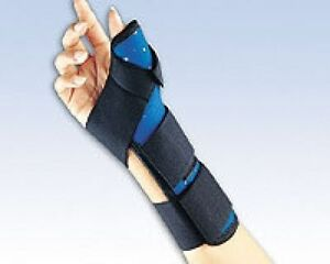 Thumb immobilization splint have thought