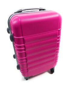 20-Inch Hardside Spinner Luggage Carry-On-4 Wheels-Hot Black Swirl