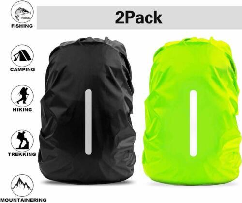Regenschutz für Outdoor Rucksack mit Reflektorstreifen Sicherheitshülle,30L-40L