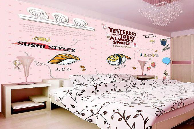 3D Sushi Mahlzeit 7002 Fototapeten Wandbild Fototapete BildTapete Familie DE