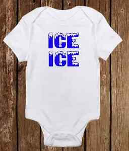 714fff72 Ice Ice Baby Onesie Funny Gerber unisex baby clothes - Baby Shower ...
