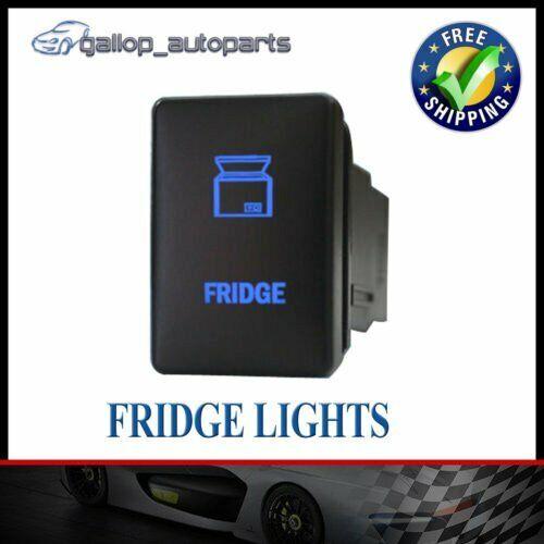 For Mitsubishi Triton Blue Fridge Light  Push Switch MQ Pajero Sport Mirage 12V