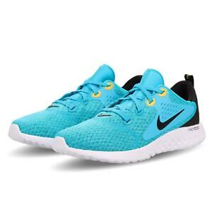Nike-Legend-React-GS-Blue-Fury-Black-Kid-Women-Running-Shoes-Sneakers-AH9438-401