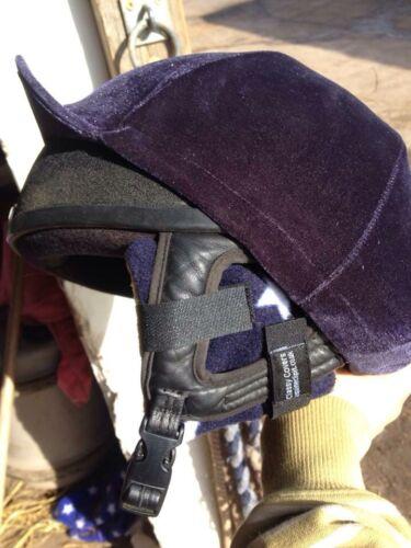 Noir Jumbo polaire équitation Chapeau Ear Warmers idéal Xtra Thick xtra chaud!