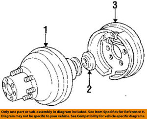image is loading ford-oem-87-97-f-250-rear-brakes-