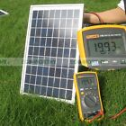 10W Poly Crystalline Solar Panel 10W Solar Module For 12V Solar Power appliances