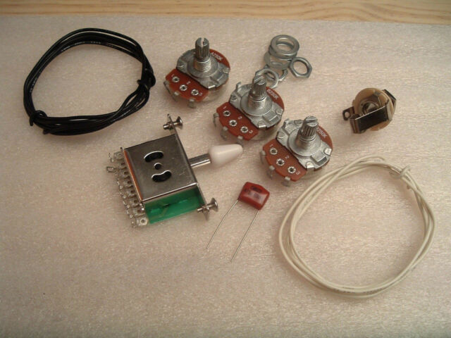 Stratocaster wiring kit for SSS